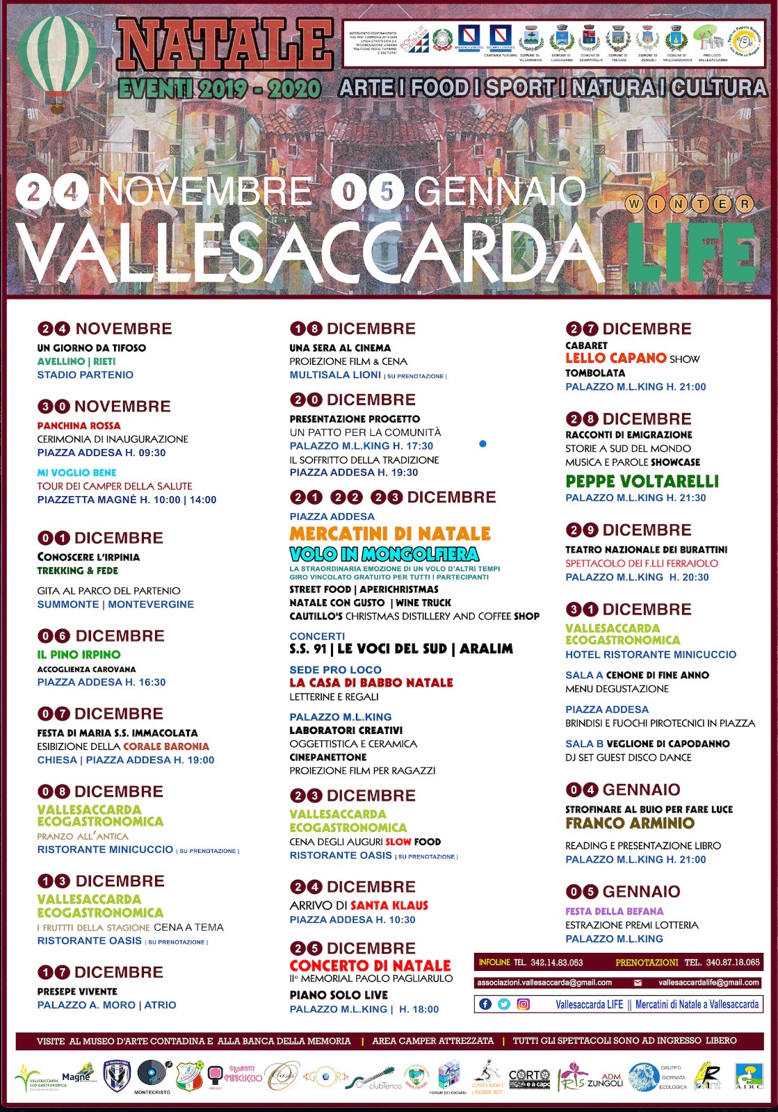 Vallesaccarda LIFE 2019