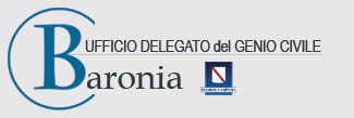 """ufficio delegato del genio civile """"Baronia"""""""